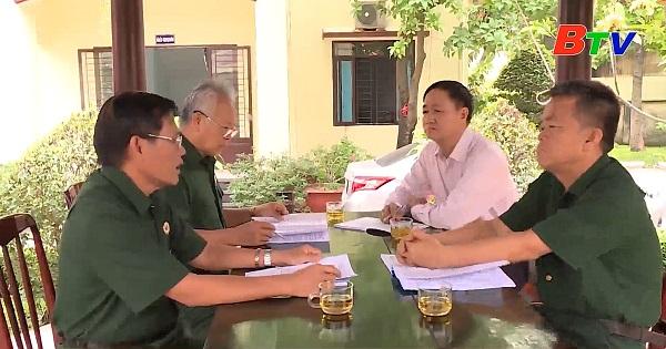 Cựu chiến binh tích cực tham gia công tác bầu cử