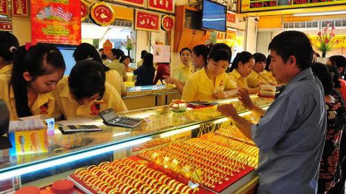 Việt Nam đứng top 8 nước tiêu thụ vàng nhiều nhất