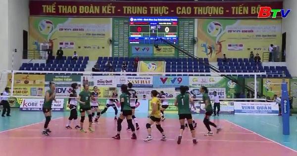 CLB VTV Bình Điền Long An vào bán kết Giải bóng chuyền nữ Quốc tế VTV9 - Bình Điền 2018