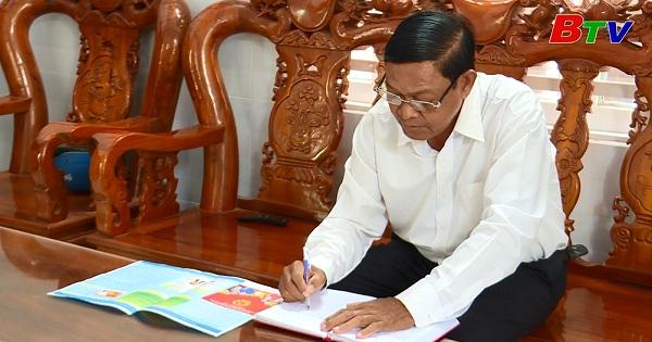 Người cán bộ dân tộc Khmer học và làm theo Bác