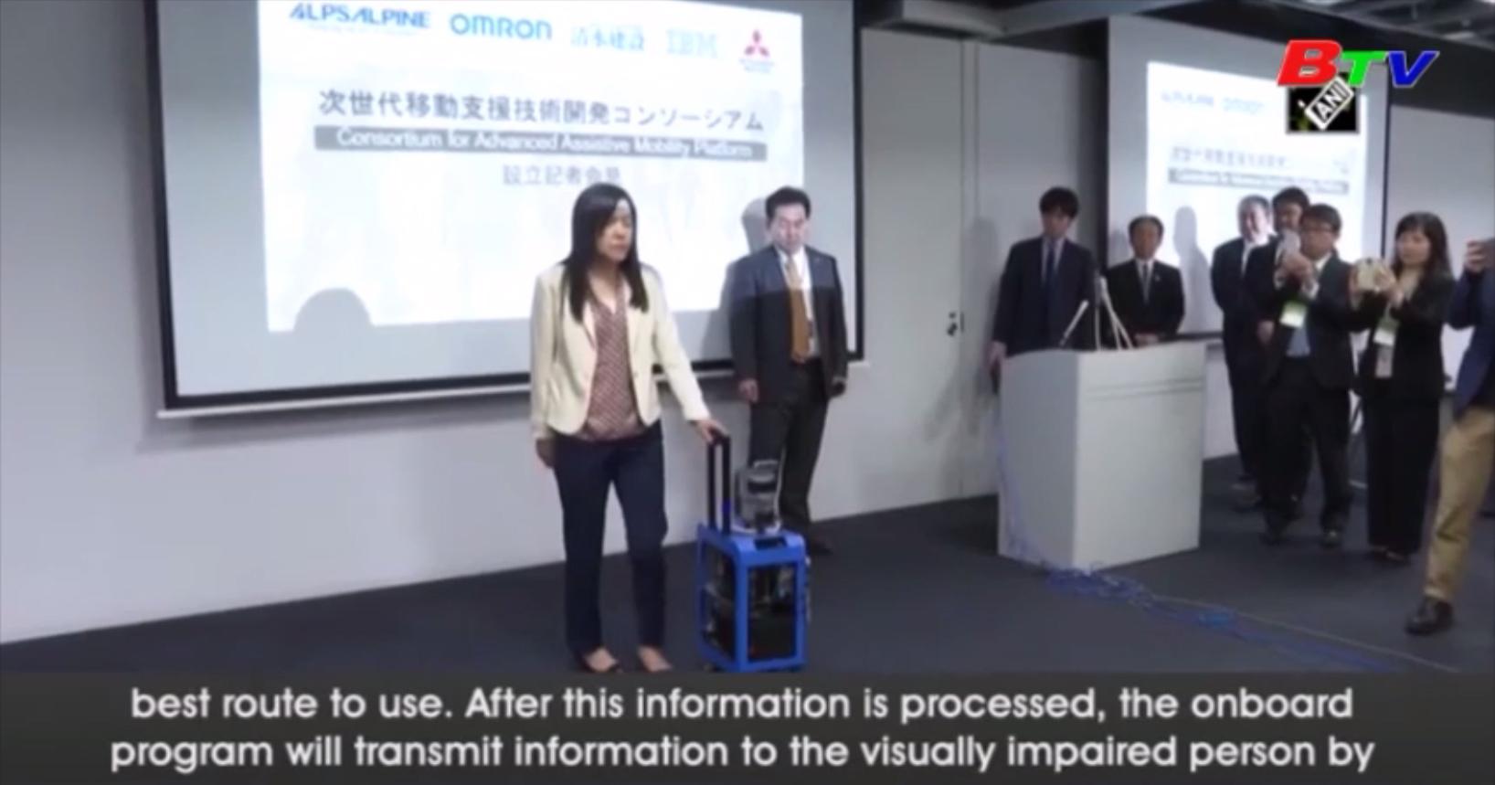 Nhật Bản phát triển robot dẫn đường dành cho người khiếm thị