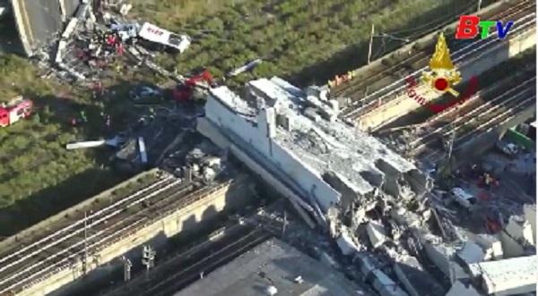 Vụ sập cầu cạn tại Italy - Số nạn nhân thương vong tiếp tục tăng
