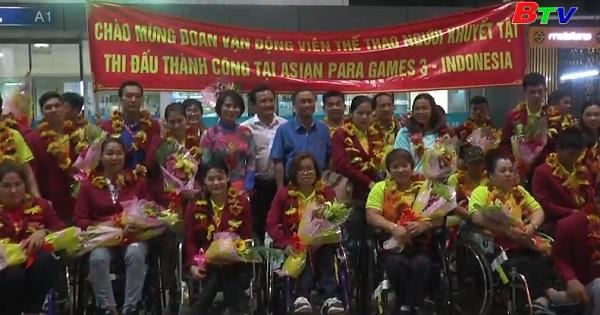 Đoàn thể thao người khuyết tật Việt Nam thành công tại ASIAN PARA GAMES 2018