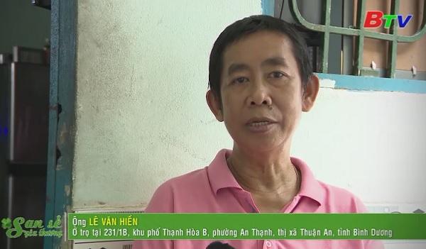 San Sẻ Yêu Thương - Hoàn cảnh ông Lê Văn Hiền (231/1B, KP Thạnh Hòa B, TX. Thuận An, Bình Dương)
