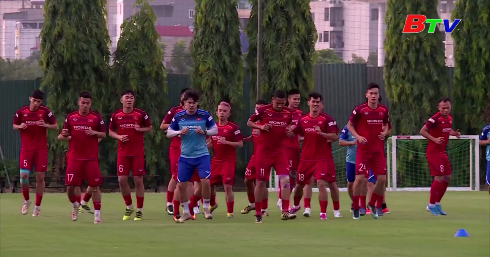 Tuyển Việt Nam sẵn sàng cho trận đấu tại Indonesia