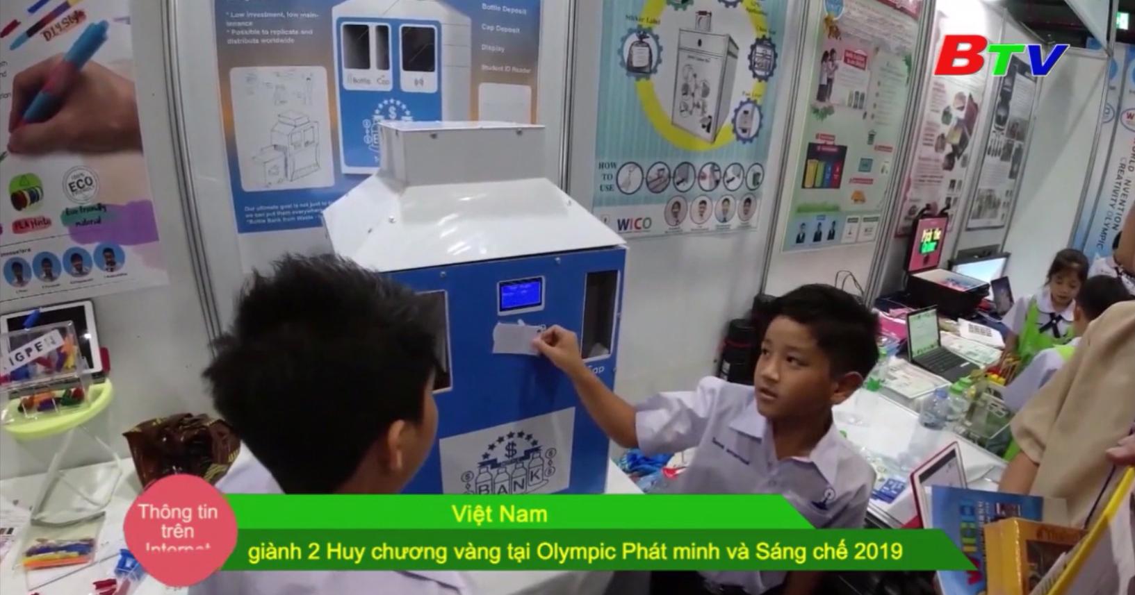 Việt Nam giành 2 Huy chương vàng tại Olympic Phát minh và Sáng chế 2019