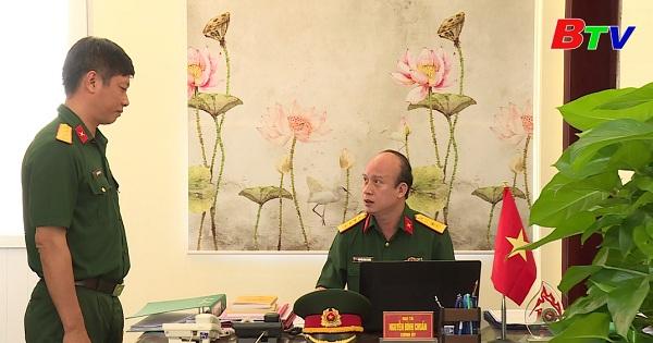Đại tá Nguyễn Đình Chuẩn noi gương sáng Bác Hồ