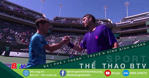 Cameron Norrie vào bán kết Giải quần vợt Indian Wells Masters 2021