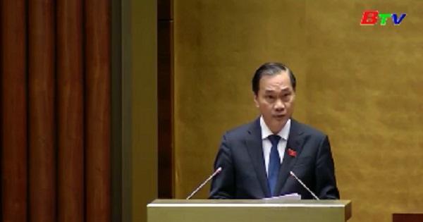 Quốc hội thảo luận Dự án luật Đầu tư và Dự án luật Doanh nghiệp