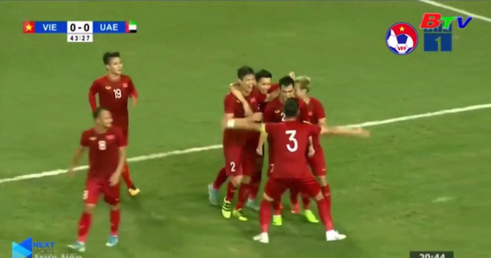 Vòng loại thứ 2 World Cup 2022 khu vực châu Á - ĐT Việt Nam vươn lên dẫn đầu bảng G
