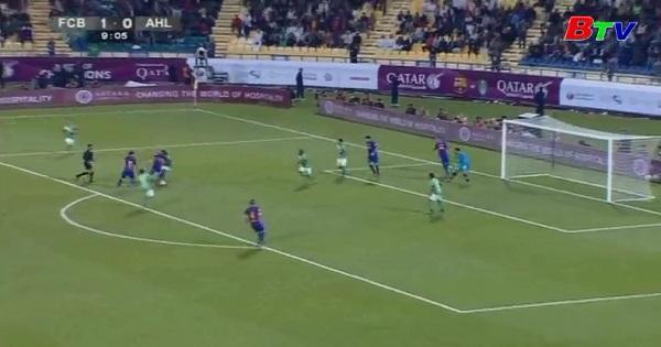 Giao hữu quốc tế cấp CLB: Al-Ahli 3-5 Barcelona