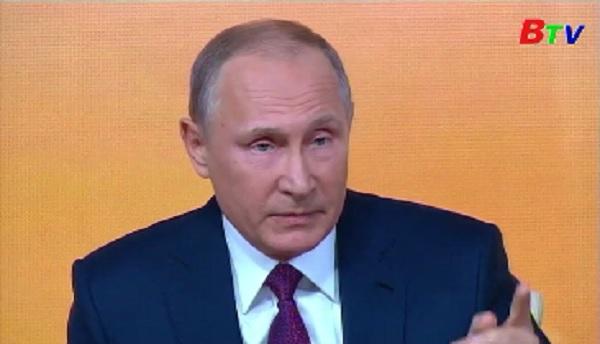 Họp báo thường niên của tổng thống Nga