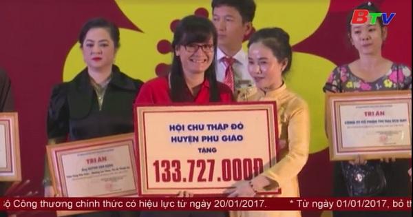 Chương trình Tết vì người nghèo Xuân Đinh Dậu 2017