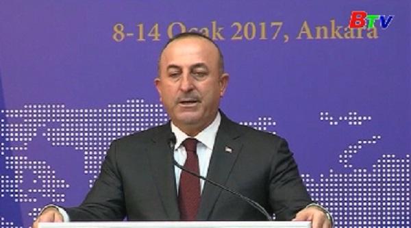 Thổ Nhĩ Kỳ và Nga sẽ mời Mỹ tham gia hòa đàm Syria