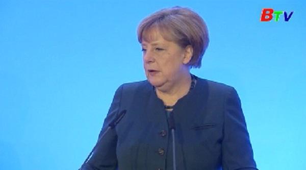 Thủ tướng Đức kêu gọi Mỹ theo đuổi hợp tác quốc tế