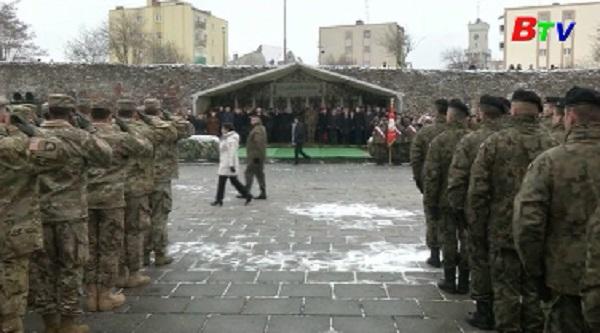 Hàng ngàn binh sĩ Mỹ được điều tới Ba Lan