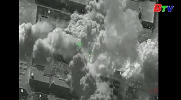 Thổ Nhĩ Kỳ tấn công hơn 200 vị trí của IS tại bắc Syria