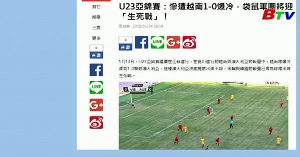 AFC và truyền thông quốc tế ca ngợi chiến thắng U23 Việt Nam