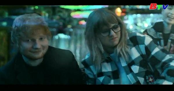 TAYLOR SWIFT, ED SHEERAN VÀ RAPPER FUTURE  hợp tác trong ca khúc mới