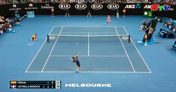 Kết quả Vòng 1 Giải quần vợt Australia mở rộng năm 2018
