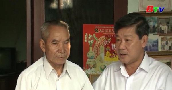 Lãnh đạo tỉnh thăm và tặng quà têt cho các đối tượng khó khăn, gia đình chính sách tại Thuận An