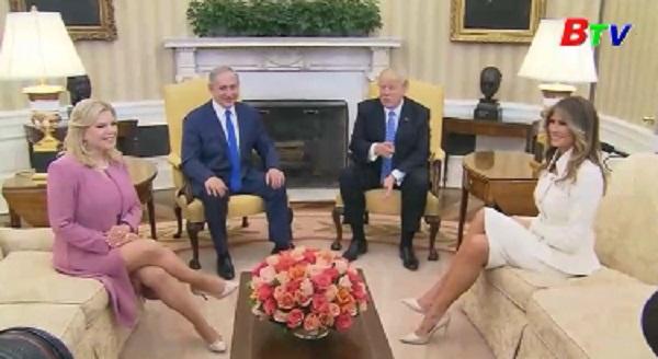 Tổng thống Mỹ tiếp thủ tướng Israel