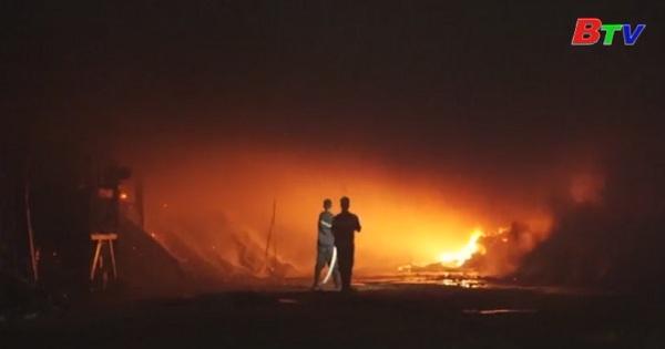 Bình Dương tăng cường ứng phó cháy nổ mùa khô