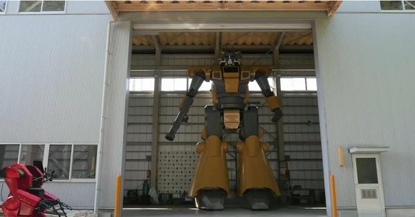 Nhật Bản giới thiệu Robot khổng lồ