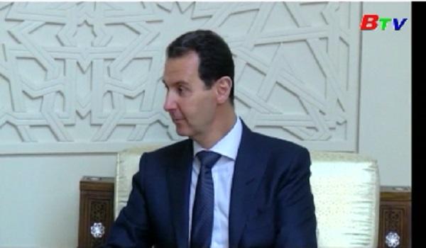 Syria cảnh báo về mưu đồ chống phá của các thế lực ngoại bang