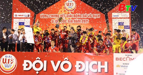 PVF bảo vệ thành công ngôi vô địch U19 Quốc gia