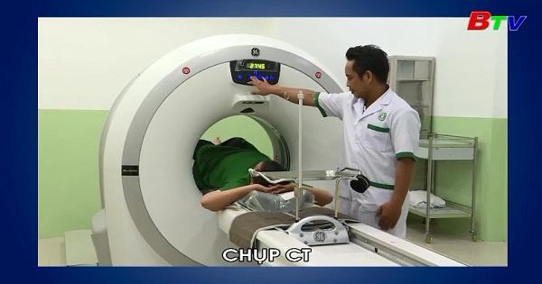 Công nghệ chụp CT và MRI giúp chẩn đoán bệnh chính xác (Sống khỏe mỗi ngày 17/05/2018)