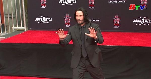 Diễn viên Keanu Reeves lưu dấu ở nhà hát Trung Hoa - Hollywood