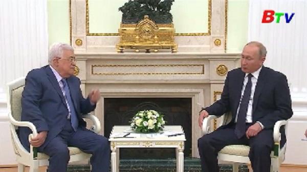 Lãnh đạo Nga, Palestine thảo luận tình hình Trung Đông