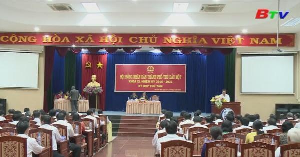 Kỳ họp lần thứ 8 HĐND Tp. Thủ Dầu Một khóa XI