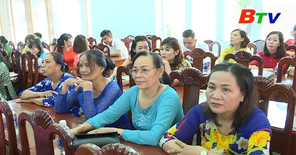 Hội Phụ nữ huyện Phú Giáo tổ chức Đại hội đại biểu phụ nữ lần thứ V