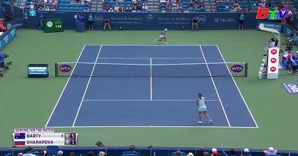 Kết quả vòng 2 đơn nữ Cincinnati Masters 2019