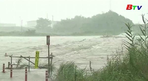 Bão Krosa tiến gần Nhật Bản khiến giao thông hỗn loạn