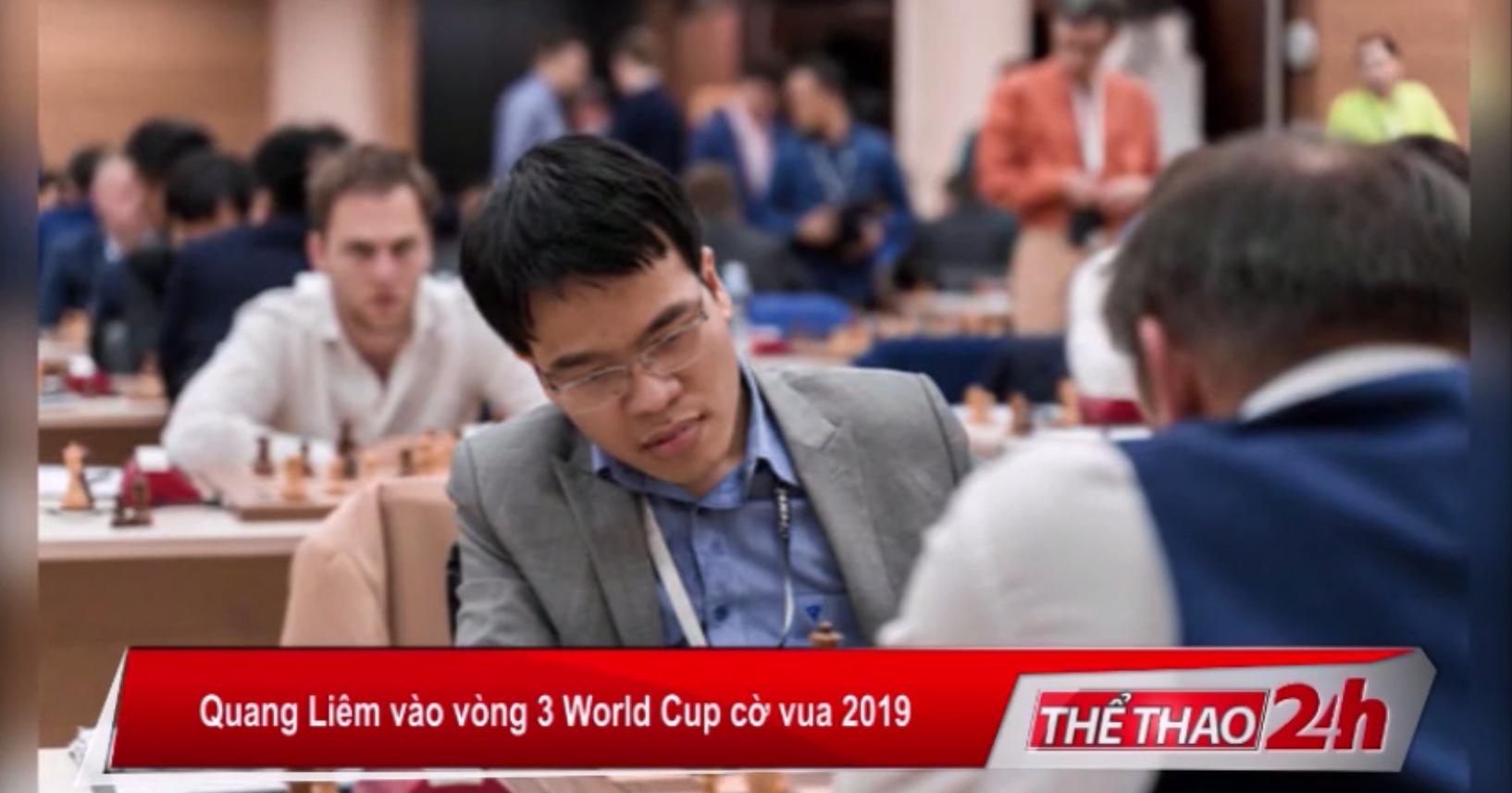 Quang Liêm vào vòng 3 World Cup Cờ Vua 2019