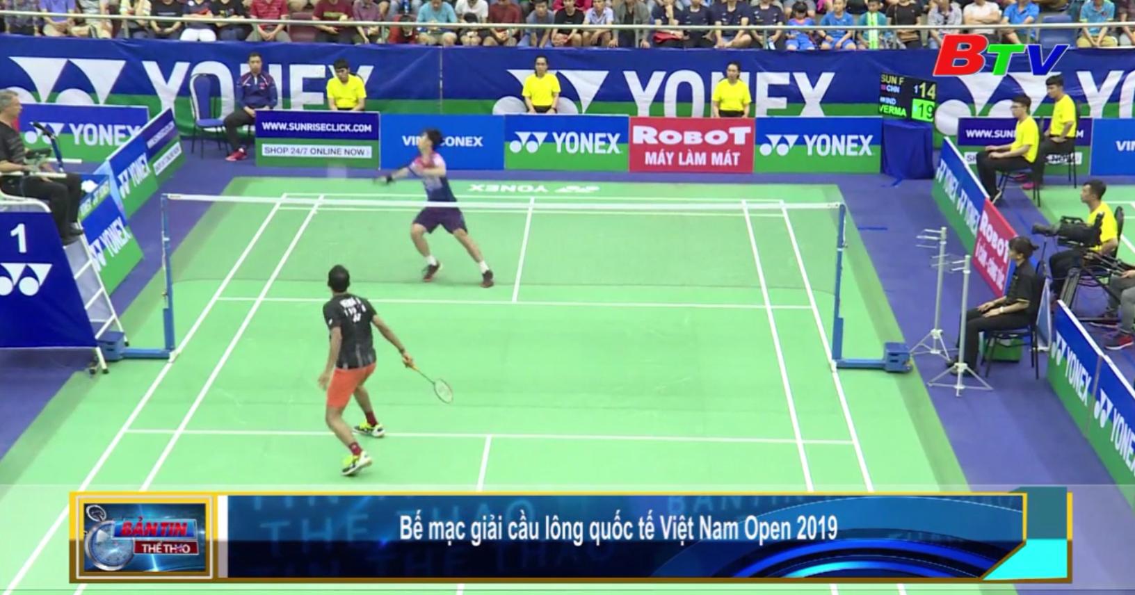 Bế mạc Giải cầu lông quốc tế Việt Nam Open 2019