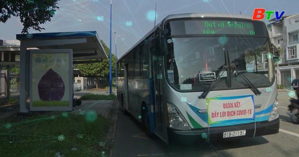Xe bus công cộng - tiện ích ở thành phố mới Bình Dương