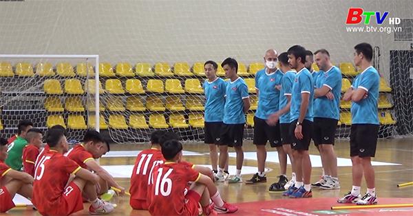 Đội tuyển futsal Việt Nam trước trận gặp Panama