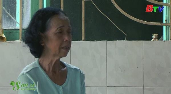 San Sẻ Yêu Thương - Hoàn cảnh bà Nguyễn Thu Vân, sinh năm 1957, ở tại số 207/2 Khu phố 1B, phường An Phú, TXThuận An.