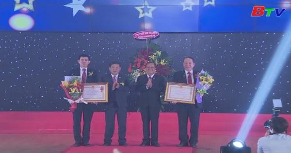 Tôn vinh khen thưởng doanh nhân xuất sắc tỉnh Bình Dương năm 2018