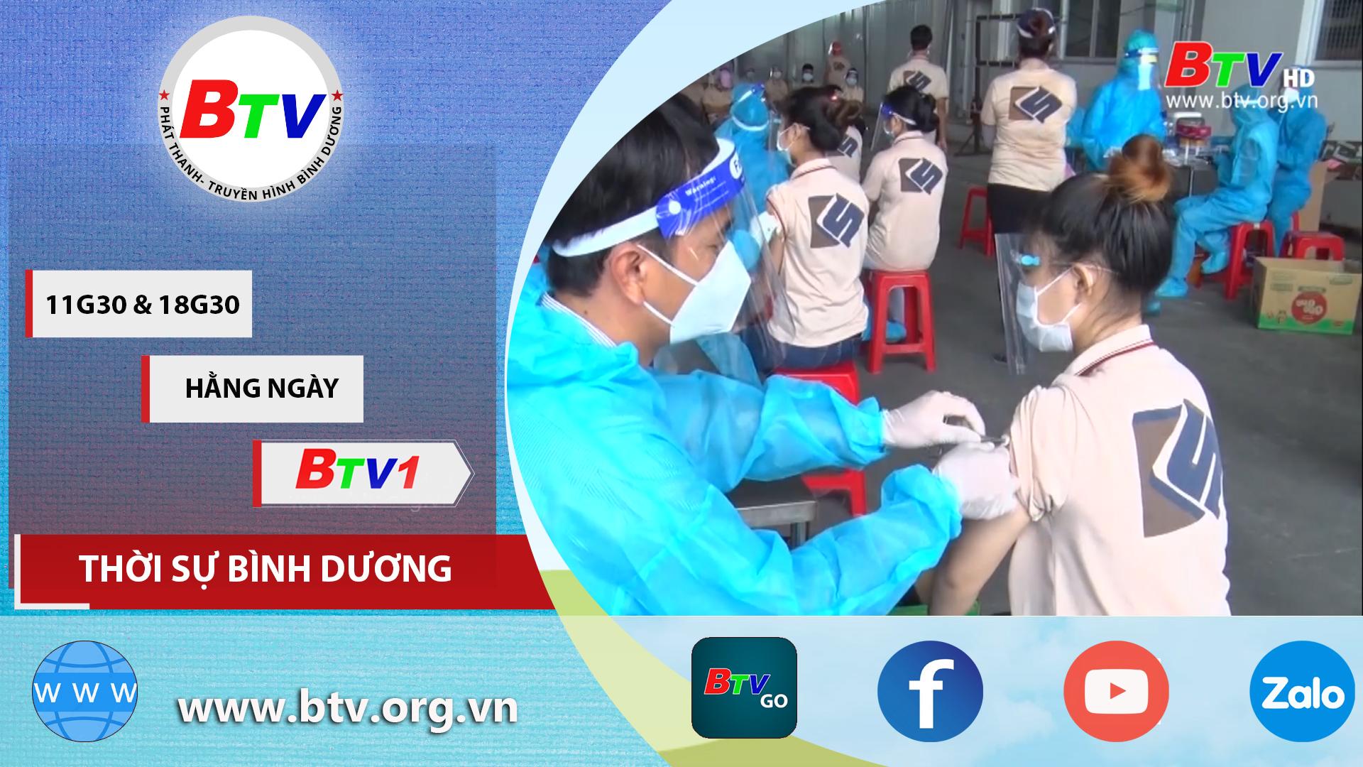 Bến Cát tiêm vaccine cho công nhân lao động