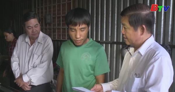 Thăm hỏi gia đình các nạn nhân tai nạn giao thông trên địa bàn tỉnh