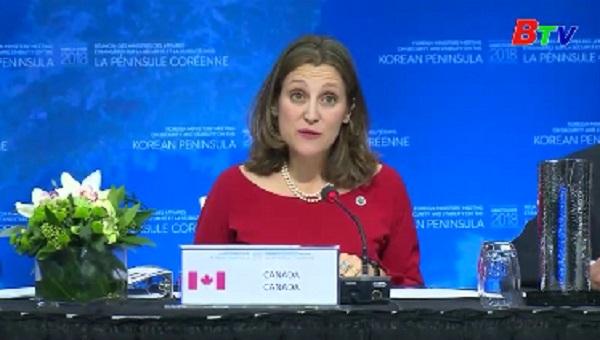 Hội nghị quốc tế về Triều Tiên tại Canada