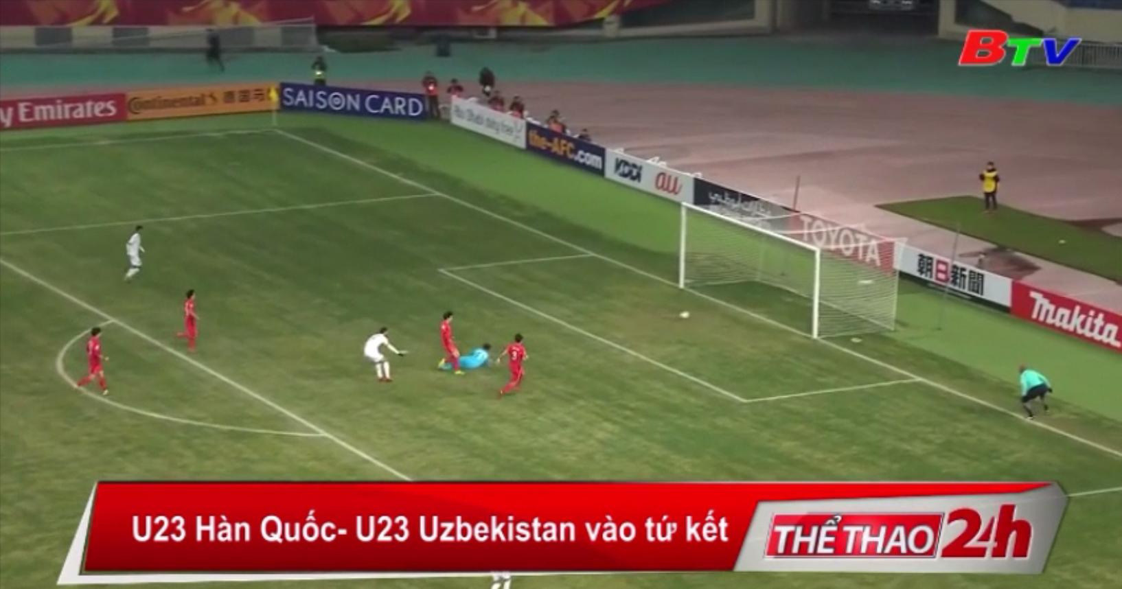 U23 Hàn Quốc - U23 Uzbekistan vào tứ kết