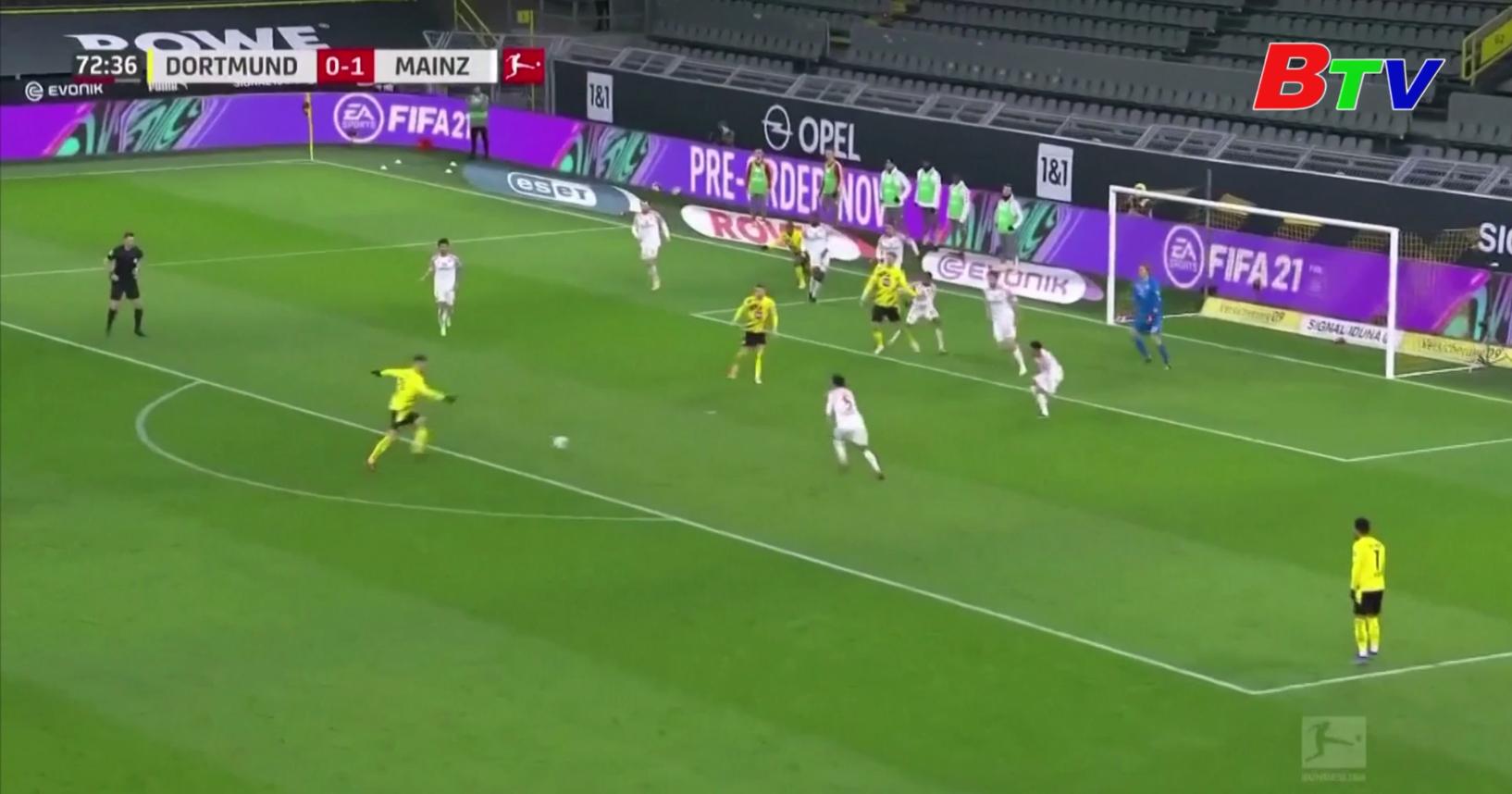 Vòng 16 Bundesliga – Borussia Dortmund 1-1 Mainz