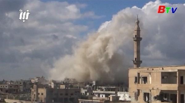 Thổ Nhĩ Kỳ đẩy mạnh chiến dịch tiêu diệt IS tại Syria
