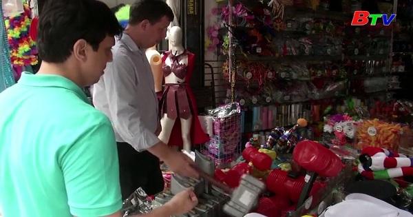 Người dân Brazil  mạnh tay mua sắm cho mùa lễ hội Carnival